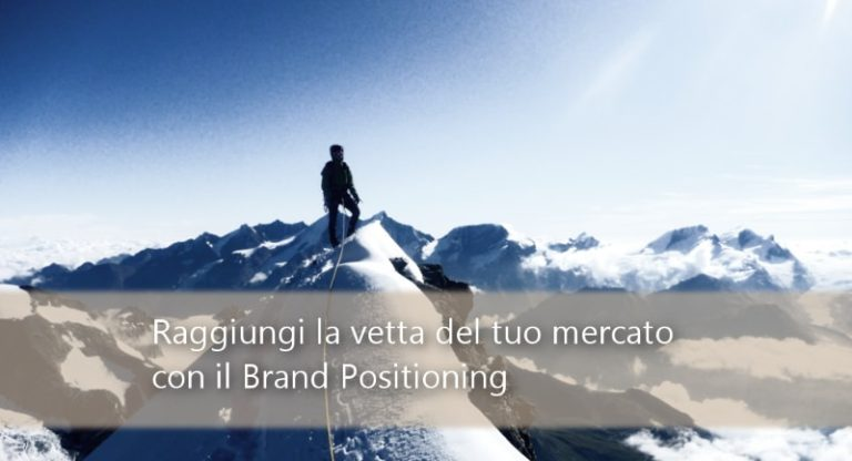Come impostare la tua strategia di marketing con il Brand Positioning